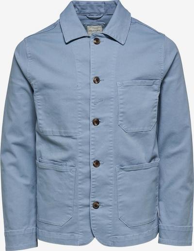 SELECTED HOMME Tussenjas in de kleur Blauw, Productweergave