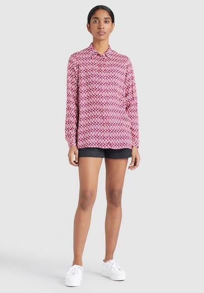 khujo Bluse ' LARISA ' in pink, Modelansicht