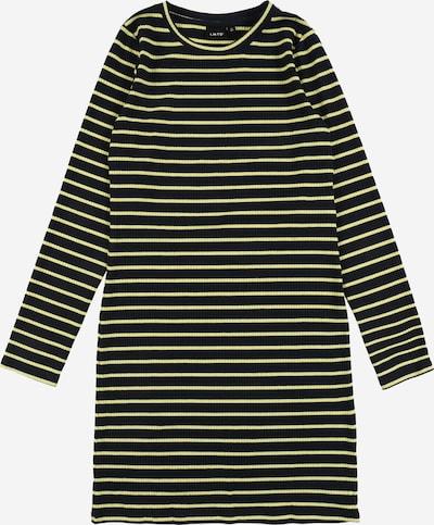 LMTD Kleid 'NLF Blume LS' in nachtblau / gelb, Produktansicht