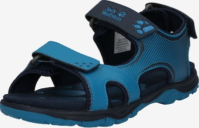 JACK WOLFSKIN Sandale 'Puno Bay' in blau / schwarz, Produktansicht