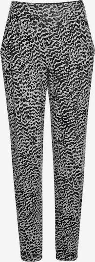 LASCANA Spodnie od piżamy w kolorze czarny / białym, Podgląd produktu