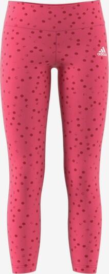ADIDAS PERFORMANCE Leggings 'MH Gra' in pink / dunkelrot, Produktansicht