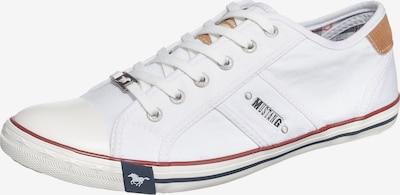 fehér MUSTANG Rövid szárú edzőcipők, Termék nézet