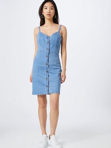 ABOUT YOU Kleid 'Elva' in Blau