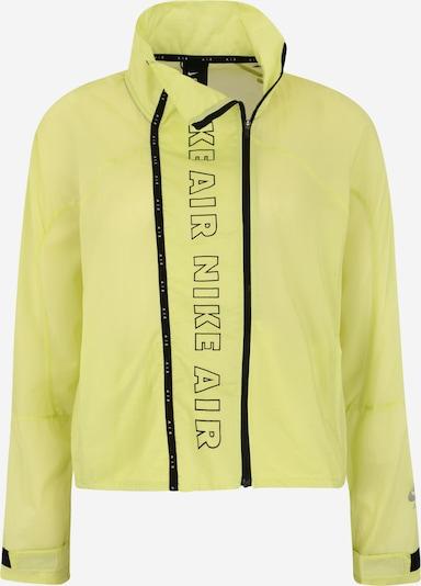 NIKE Sportovní bunda - svítivě žlutá / černá, Produkt
