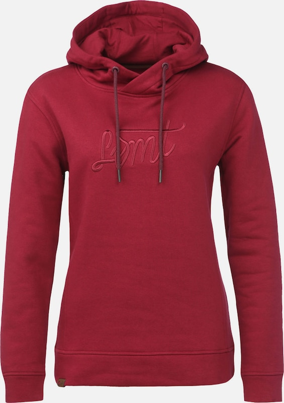 Lakeville Mountain Sweatshirt 'Mara Embroidery' in de kleur Bourgogne, Productweergave