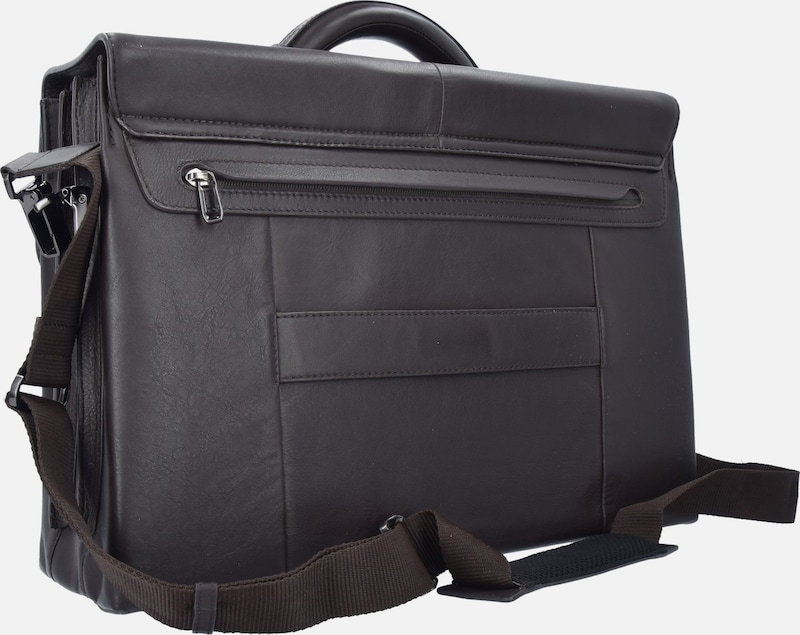 SAMSONITE Sygnum Aktentasche Leder 45 cm Laptopfach