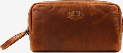 KLONDIKE 1896 Kulturtasche 'Tad' in braun, Produktansicht