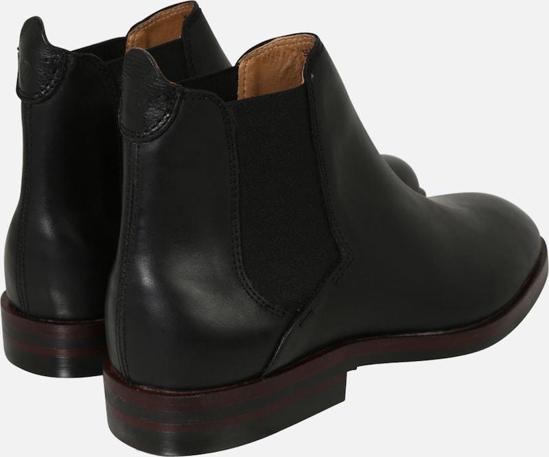 Hudson Calf' En Chelsea London Noir 'tonti Boots wv0mN8n