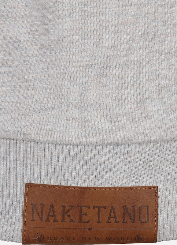 En Sweat Chiné GrisBasalte Naketano shirt QodCxBerW