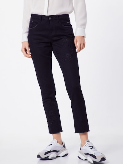 Cream Jeans 'Katy Fit' in black denim, Modelansicht