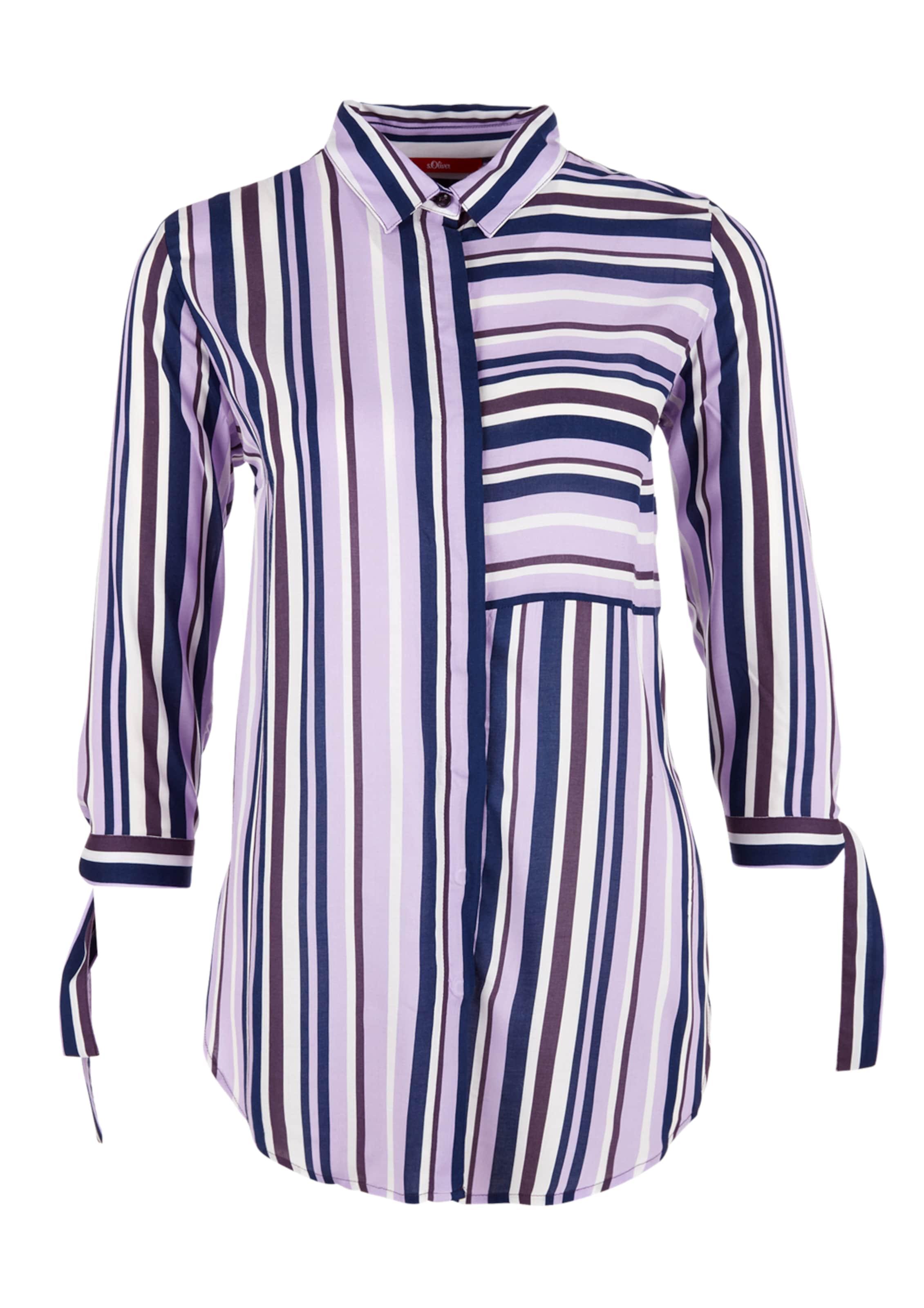 oliver Bluse In S Weiß BlauLila 08knPwOX