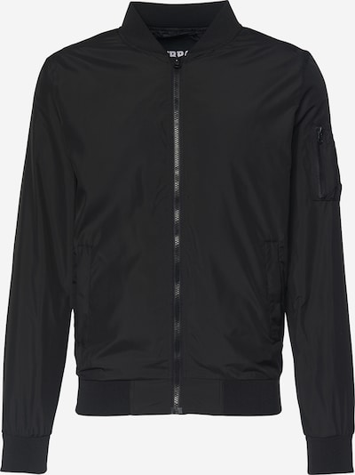 Urban Classics Bomber 'Light Bomber Jacket' in schwarz, Produktansicht