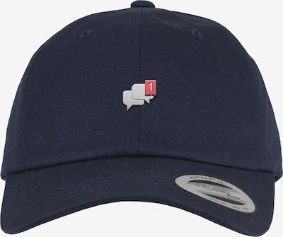 Mister Tee Dadcap 'Message' in navy / grau, Produktansicht