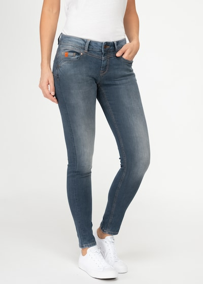 Miracle of Denim Jeans 'Ellen' in blue denim, Modelansicht