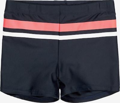 NAME IT Zwembroek in de kleur Donkerblauw / Rosa / Wit, Productweergave