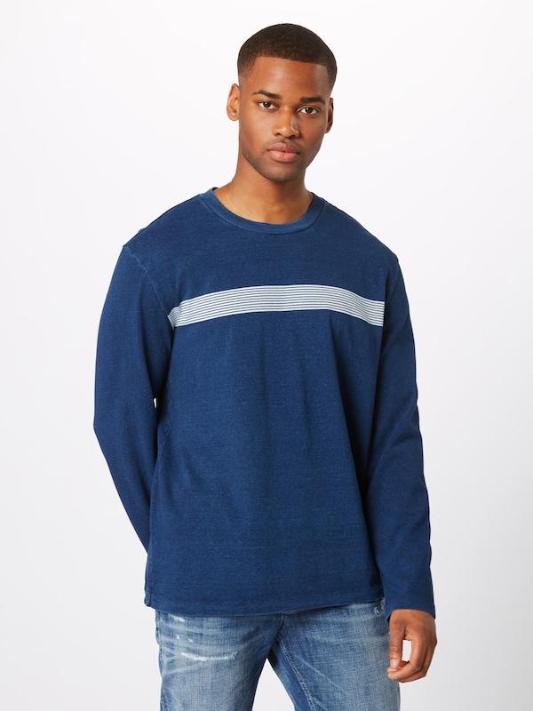 T' Gap 'ls En BleuBlanc T shirt Indigo Hwt dQCosrhtxB