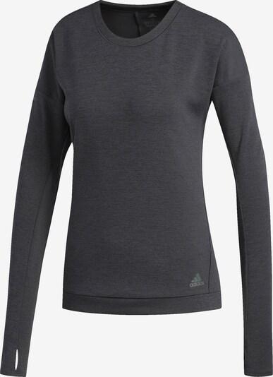 ADIDAS PERFORMANCE Sweatshirt 'Supernova' in dunkelgrau / schwarz, Produktansicht