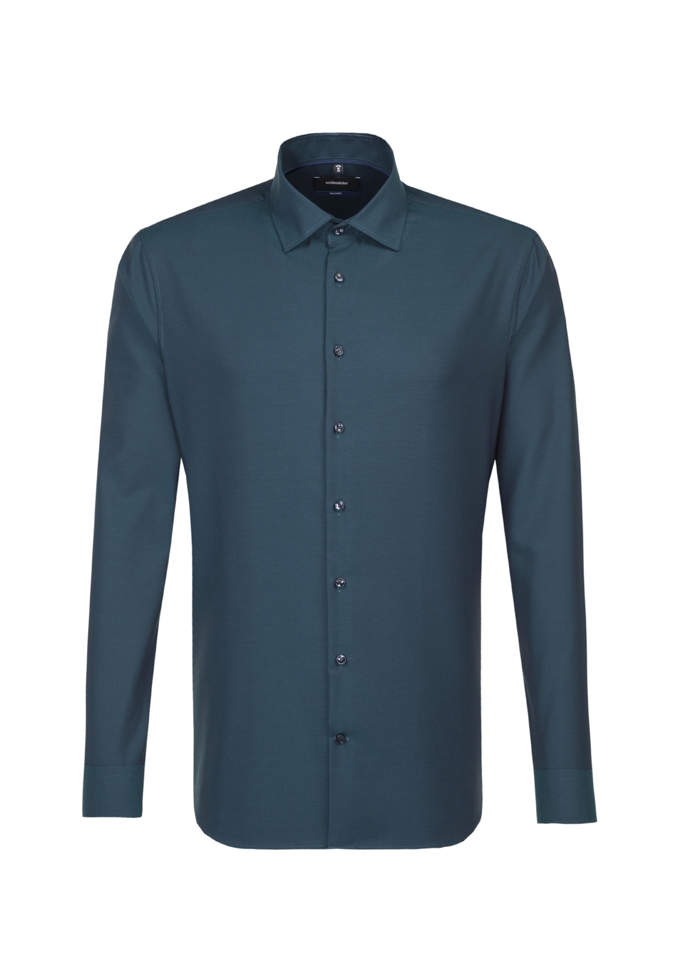 Business Hemd Smaragd Seidensticker In 'tailored' Pk80ZwXNnO