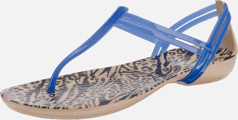 Crocs Isabella Graphic T-strap T-Steg-Sandalen
