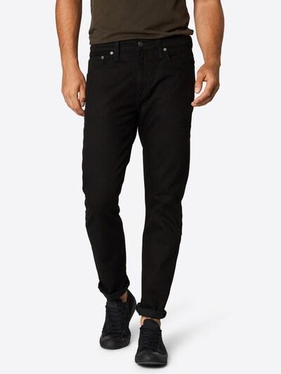 LEVI'S Jeans '502™ REGULAR TAPER' in black denim, Modelansicht