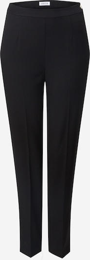 EDITED Spodnie w kant 'Tania' w kolorze czarnym, Podgląd produktu