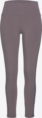 LASCANA ACTIVE Workout Pants in Grey