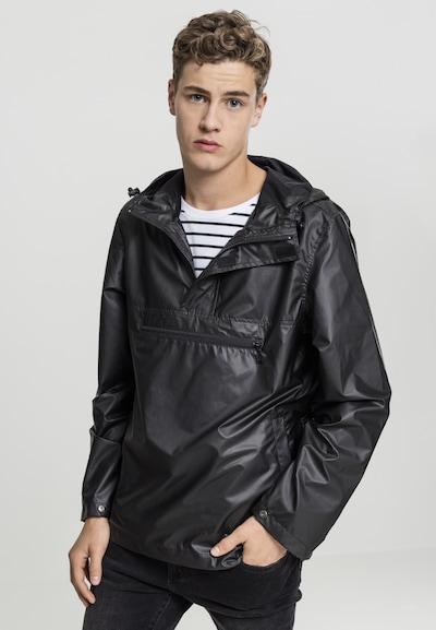 Urban Classics Light Jacket in schwarz: Frontalansicht