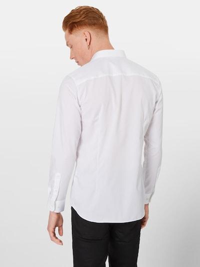 JACK & JONES Hemd in weiß: Rückansicht
