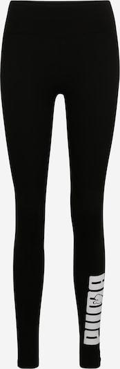 PUMA Leggings 'Rebel' en noir / blanc, Vue avec produit