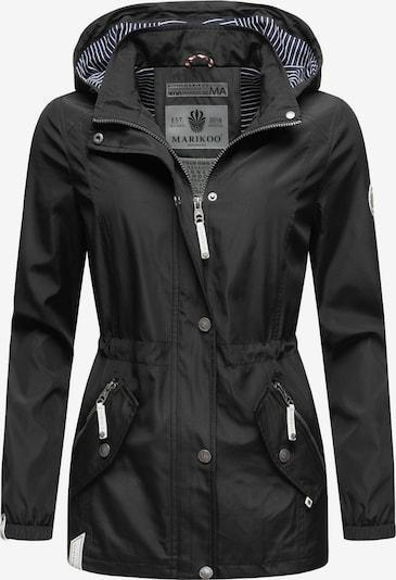 MARIKOO Outdoorjacke 'Dein Kussmäulchen' in schwarz, Produktansicht