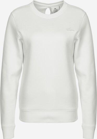 Lacoste LIVE Sweater ' Sportswear ' in weiß, Produktansicht