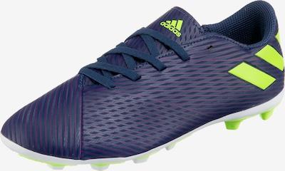 ADIDAS PERFORMANCE Fußballschuh in nachtblau / neongrün / lila, Produktansicht
