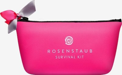 Rosenstaub Kosmetiktasche 'Survival Kit' in pink, Produktansicht