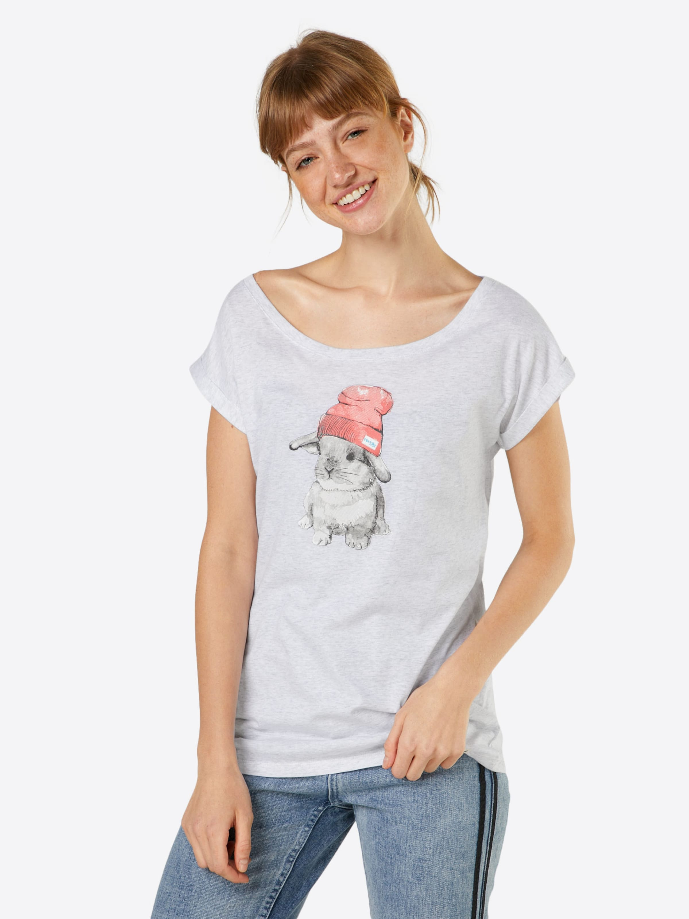 In Iriedaily Hasi' Shirt 'it Weiß WDHIE29Y