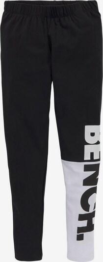 BENCH Leggings in schwarz / weiß, Produktansicht