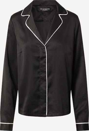OW Intimates Slaapshirt 'Alexandra' in de kleur Zwart, Productweergave