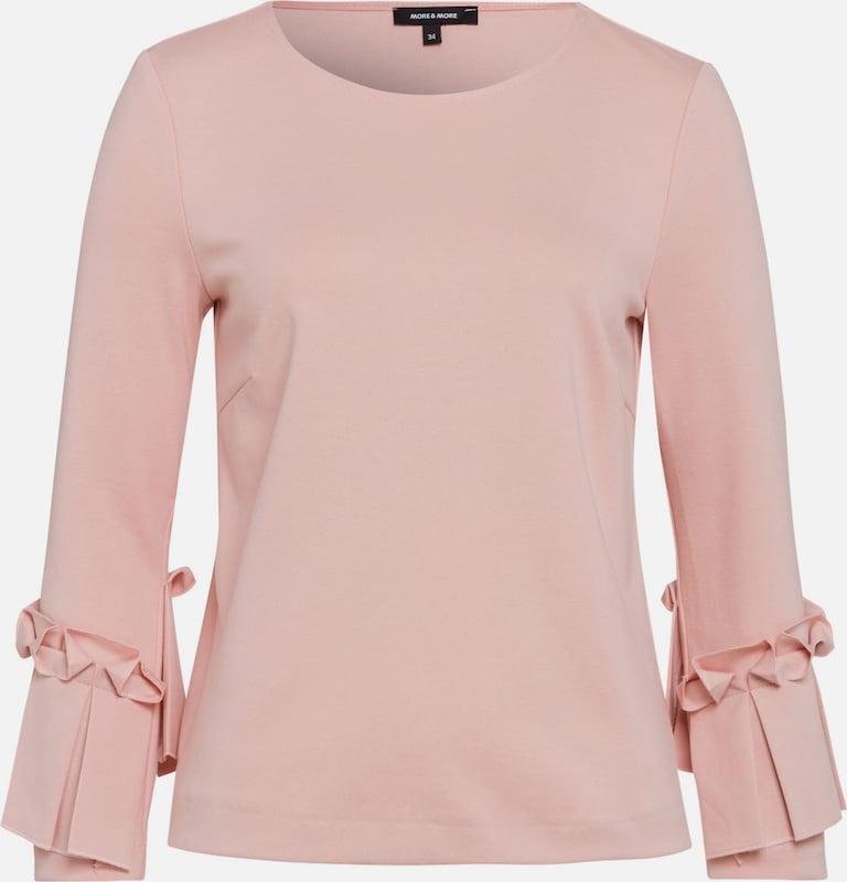 MORE & MORE Blusenshirt, rosé