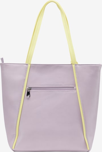 MYMO Tote-Bag in lila: Frontalansicht
