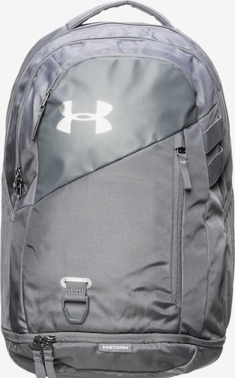 UNDER ARMOUR Rucksack 'Hustle 4.0' in grau, Produktansicht