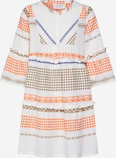Vakarinė suknelė 'Jadis' iš Cecilie Copenhagen , spalva - raudona / balta, Prekių apžvalga