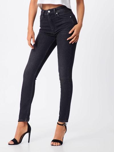 Calvin Klein Jeans Jeans 'CKJ 010' in black denim: Frontalansicht
