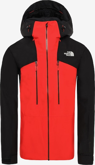 THE NORTH FACE Veste outdoor 'Powderflo' en rouge / noir, Vue avec produit