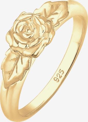 Inele 'Rose, Vintage' de la ELLI pe auriu