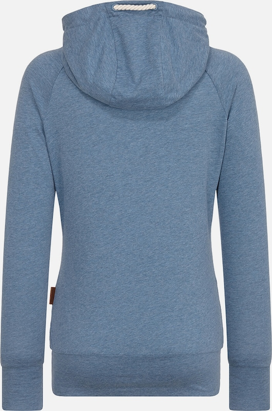 Sweat Roi 'mandy' Naketano Bleu shirt En reCxBod