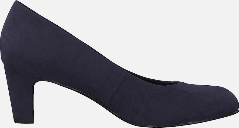 TAMARIS Pumps in navy: Seitenansicht
