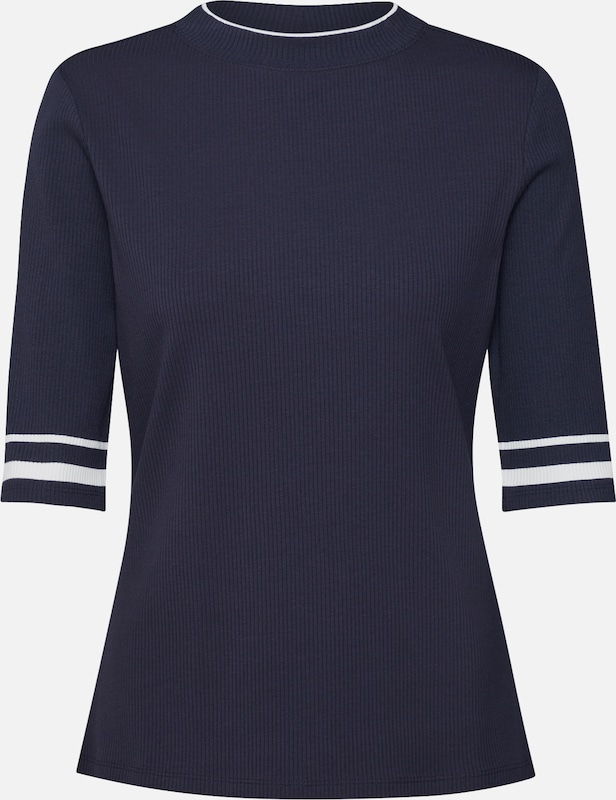 EDC BY ESPRIT Shirt in de kleur Navy, Productweergave