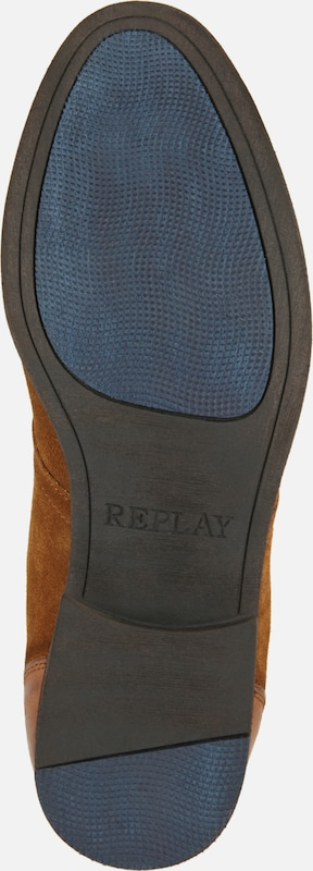 REPLAY Lederschuh 'BOX'