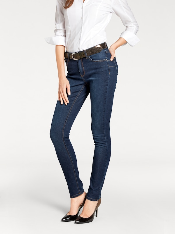 Ashley Brooke by heine Bodyform-Bauchweg-Jeans mit Coolmax-Funktion