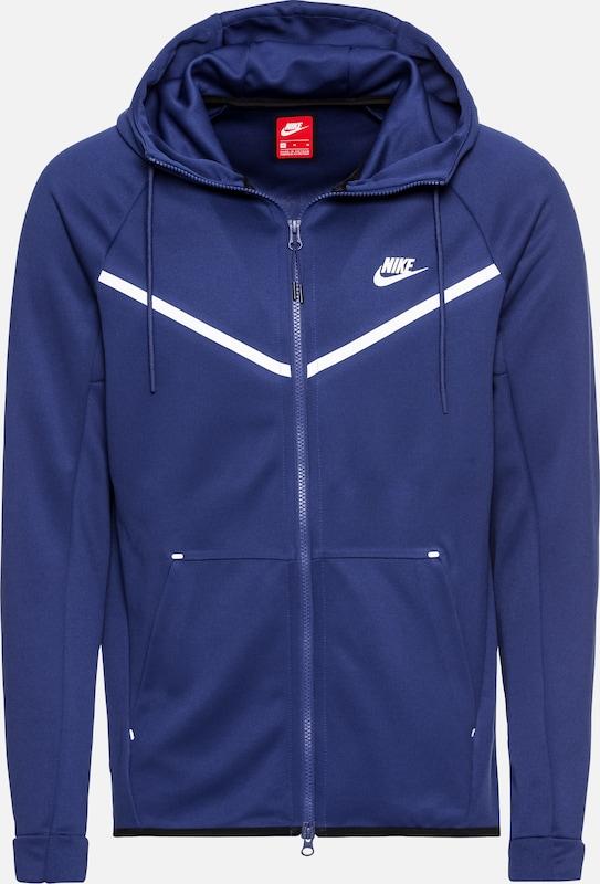 Nike saison Veste 'm Nsw Mi Hoodie Wr En BleuBlanc Sportswear Pk' Tch w0NkX8nOP